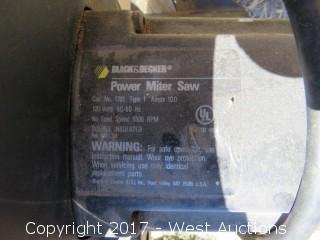 "Black and Decker 10"" Power Miter Saw"