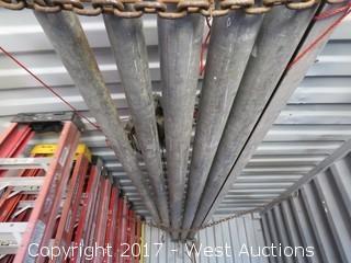 (5) Steel Proctor 1000lb Wall Jacks