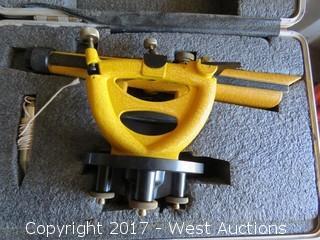 Berger Instruments Surveying Transit Level/Scope with Hard Case