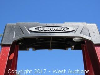 Werner 8' Fiberglass Ladder