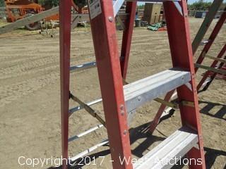 Werner 6' Fiberglass Ladder