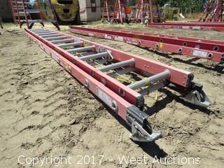 Werner 24' Extendable Fiberglass Ladder