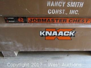 Knack 42 Jobmaster Chest with Construction Rigging Equipment