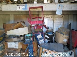 Contents of Shed  - Hardware