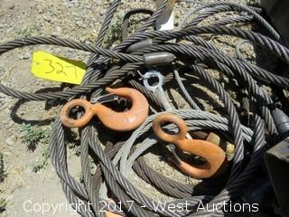 (3) Rolls of Rigging Chain