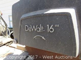"""DeWalt 16"""" Radial Arm Saw"""