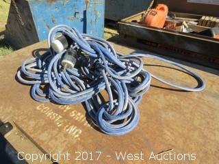 Roll of Electrical Extension Cord