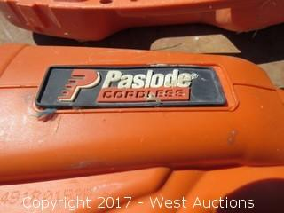 Paslode Cordless Finish Nailer with Battery and Charger