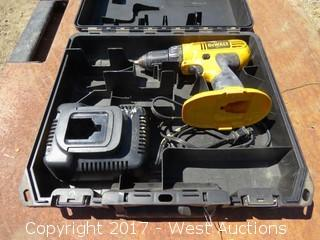 DeWalt DC759 Cordless Drill Driver and Battery Charger