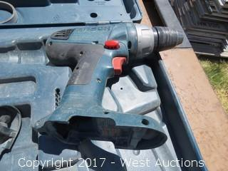 (2) Bosch Cordless Impact Wrenches