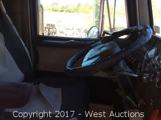 2000 Peterbilt 379 Transfer Dump Truck and 1989 Reliance Trailer