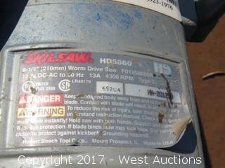 Skilsaw HD5860 Worm Drive Saw