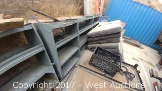 Tool Shelving for Spinter or Similar Cargo Van