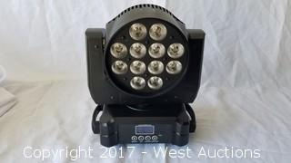 6in1 Moving Head Wash LED Light RGBAW+UV