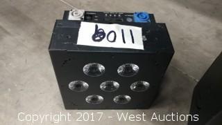 (1) Blizzard Skybox EXA 6in1 LED Light RGBAWUV WDMX