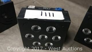 (1) Blizzard Lighting Hotbox EXA 6in1 LED Light RGBAWUV