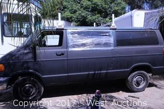 2001 Dodge B2500 Ram Van