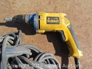 DeWalt DW272WT Powered Screwdriver