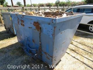 """Forklift Dump Bin 75"""" Wide"""