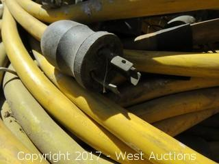 Pallet of Construction Light Bulb Cable