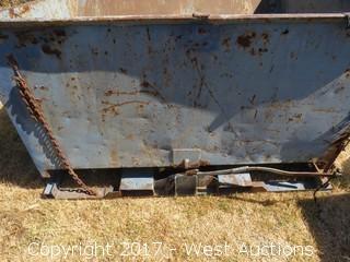 """Forklift Dump Bin 66"""" Wide"""