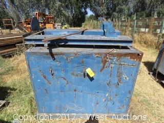 """Forklift Dump Bin 84"""" Wide"""