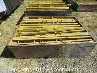 "Crate of (60+) Frame Pro 65"" Safety Railing"