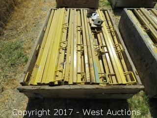 """Crate of (60+) Frame Pro 65"""" Safety Railing"""