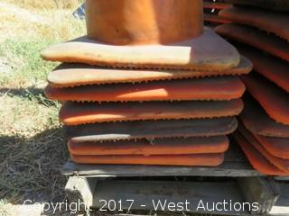 Stack of (7) Traffic Cones