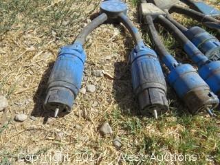 (4) Twist Lock Splitters