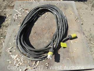 (1) Twist Lock Heavy Duty Extension Cable