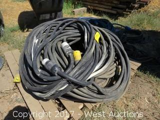 Pallet of Twist Lock Heavy Duty Extension Cables