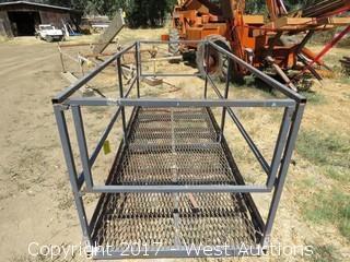Forklift Work Platform 9.5'x4'