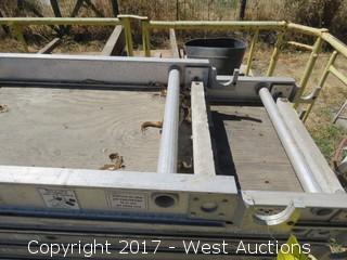 (1) Warner 10' Aluma-Plank Scaffold Deck
