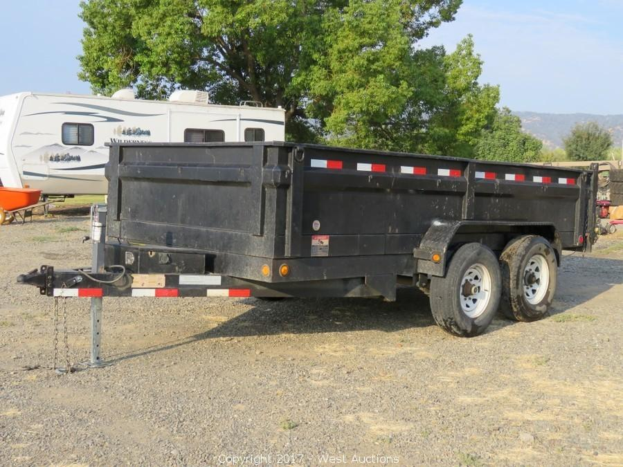 CAT Skid Steer, 2006 Dump Trailer, Tools, Hardware and Horse Tack