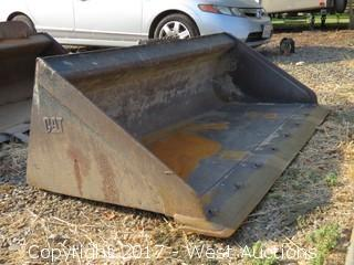 "CAT 61"" Skid Steer Bucket"