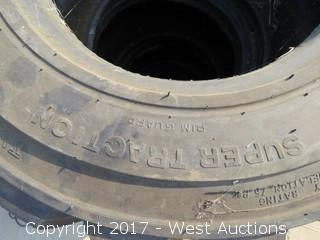 (4) 12-16.5 Tires