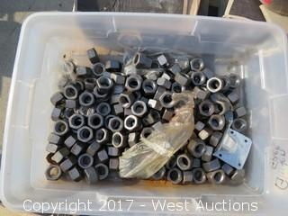 (9) Boxes of Screws, Nuts and Washers