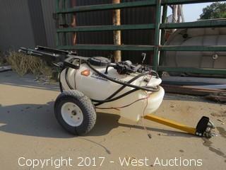 Countryline 15 Gallon ATV Spray Trailer