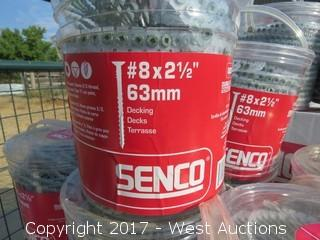 (17) Boxes of Senco Autofeed Screws and (2) Boxes of Indoor/Outdoor Sealant