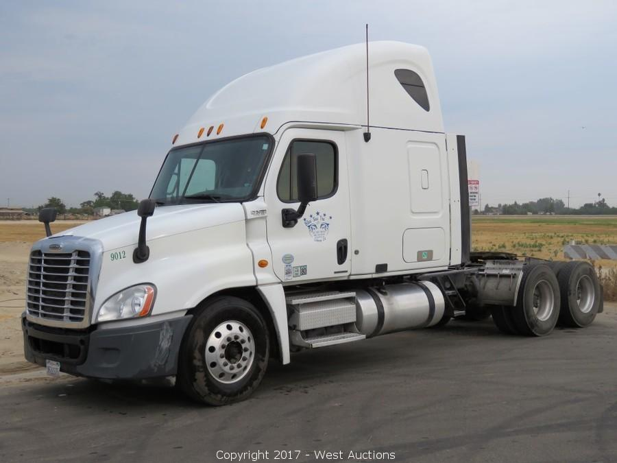 Bankruptcy Auction of Big Rigs; International, Freightliner, Kenworth