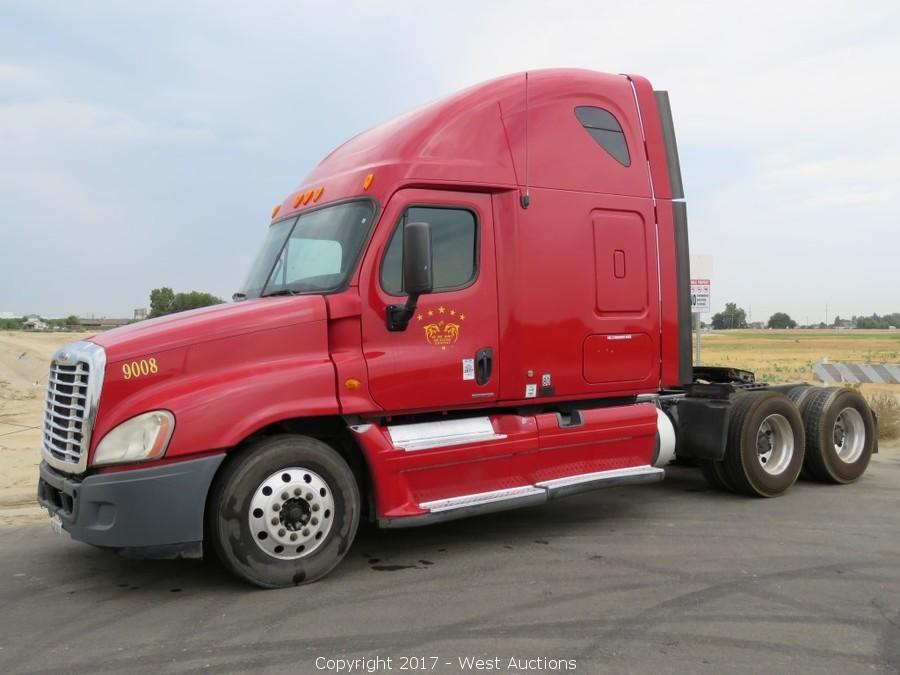 Bankruptcy Auction of Big Rigs: International, Freightliner, Kenworth
