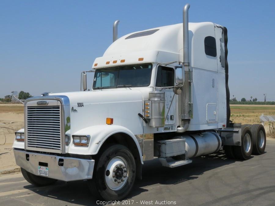 Bankruptcy Auction of Big Rigs: International, Freightliner, Kenworth