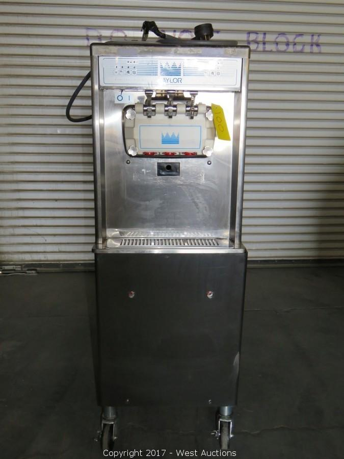 Court Ordered Auction of Taylor Soft Serve Frozen Yogurt Machines