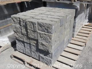 1 Pallet - Maytrx Retaining Wall Block - Tahoe Blend