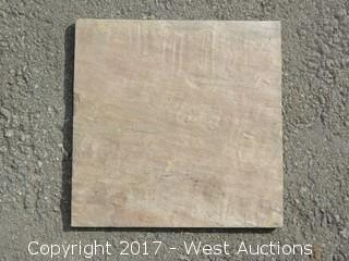 "(1) Crate India Pantera Dark Sandstone 12"" x 12"" Ungauged"
