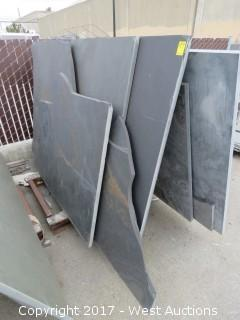(5) Pieces of Brazilian Slate Remnants