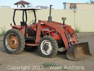 Allis-Chalmers 6060 4WD Front Loader Tractor