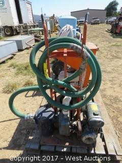 Gas Powered Portable Pump