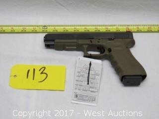 Glock 34 OD Pistol